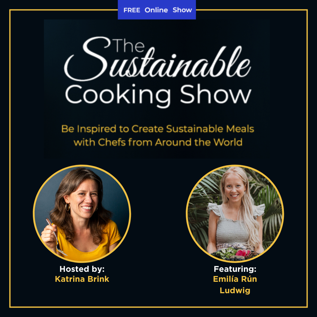 The Sustainable Cooking Show - speaker graphic - Emilía Rún Ludwig
